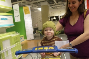 Fun at IKEA