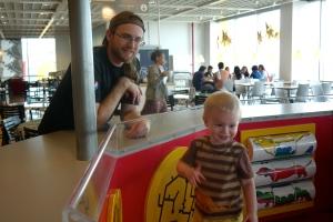 IKEA restaurant play area