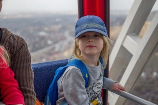 Riding the Observation Wheel